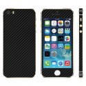 iPhone 5S Black Carbon Full Body Skin